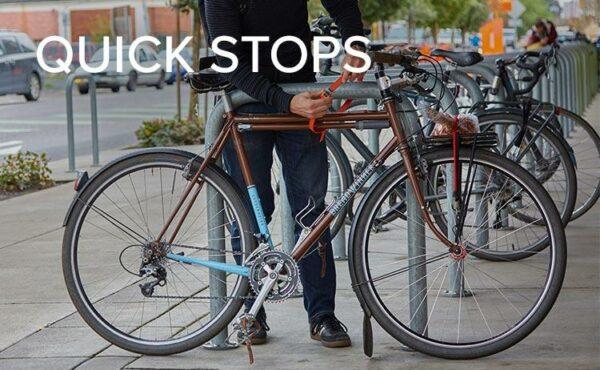 OTTOLOCK Cinch Lock Fahrradschloss, ideal für Zwischenstopps