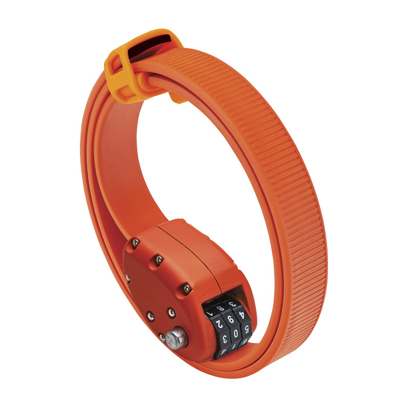 OTTOLOCK Cinch Lock Fahrradschloss - 76cm - orange